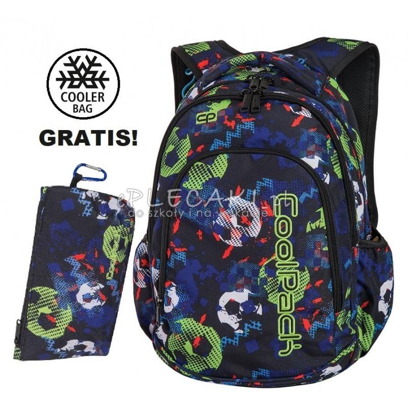 ebdcc541011ac Plecak do klas 1-3 CoolPack CP PRIME FOOTBALL z piłką nożną dla chłopca -