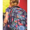 Plecak CP PINK FLAMINGO, plecak we flamingi, plecak flamingi, plecak dla dziewczynki 5 klasa, plecak do 4 klasy dla dziewczynki