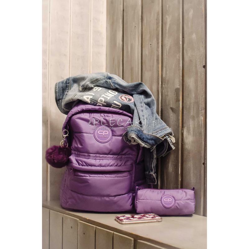 c8558b40786c2b ... CoolPack CP RUBY VIOLET pikowany fioletowy A111 + GRATIS zawieszka  puszek pompon, plecak · Jaki plecak dla dziewczynki na wycieczkę, plecak na  wycieczkę ...