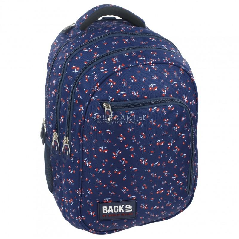 2191515e0c768 ... Plecak BackUP D 26 kwiatuszki do szkoły + GRATIS słuchawki - modny  plecak dla dziewczyny, ...