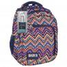 Plecak BackUP D 35 zygzaki do szkoły + GRATIS słuchawki