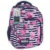Plecak BackUP D 34 begonie do szkoły + GRATIS słuchawki