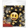 Pamiętnik spiralny na kluczyk Emoji z emotkami