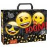 Teczka z rączką gruba Emoji z emotkami