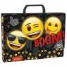 Teczka z rączką Emoji z emotkami