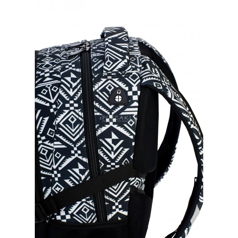 37e6c2543a7f4 Plecak szkolny Head na laptop aztecki dla młodzieży HD-74 D