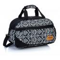Torba sportowa HEAD aztecki czarno-biały HD- 128 na trening - młodzieżowa torba na basen, torba na trening, torba na wyjazd