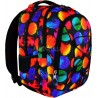 Plecak młodzieżowy 32 ST.RIGHT COLOURFUL DOTS kolorowe kule BP32