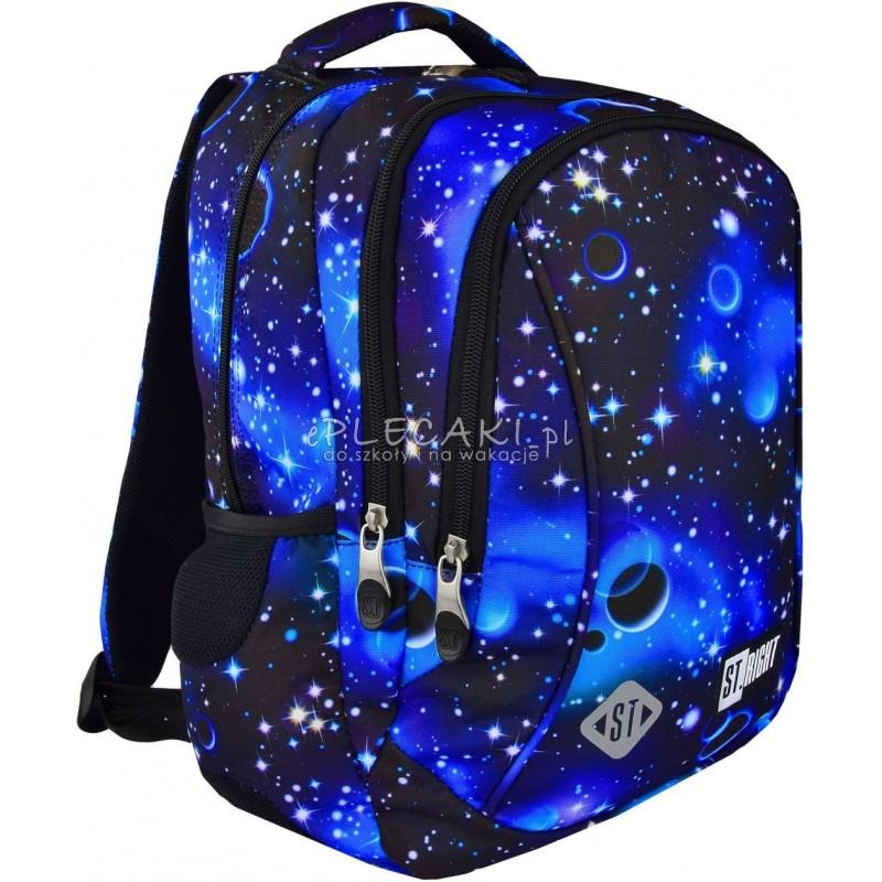 e181a1ae2147c Plecak do pierwszej klasy ST.RIGHT COSMOS galaktyka BP26 - modny plecak dla  chłopaka