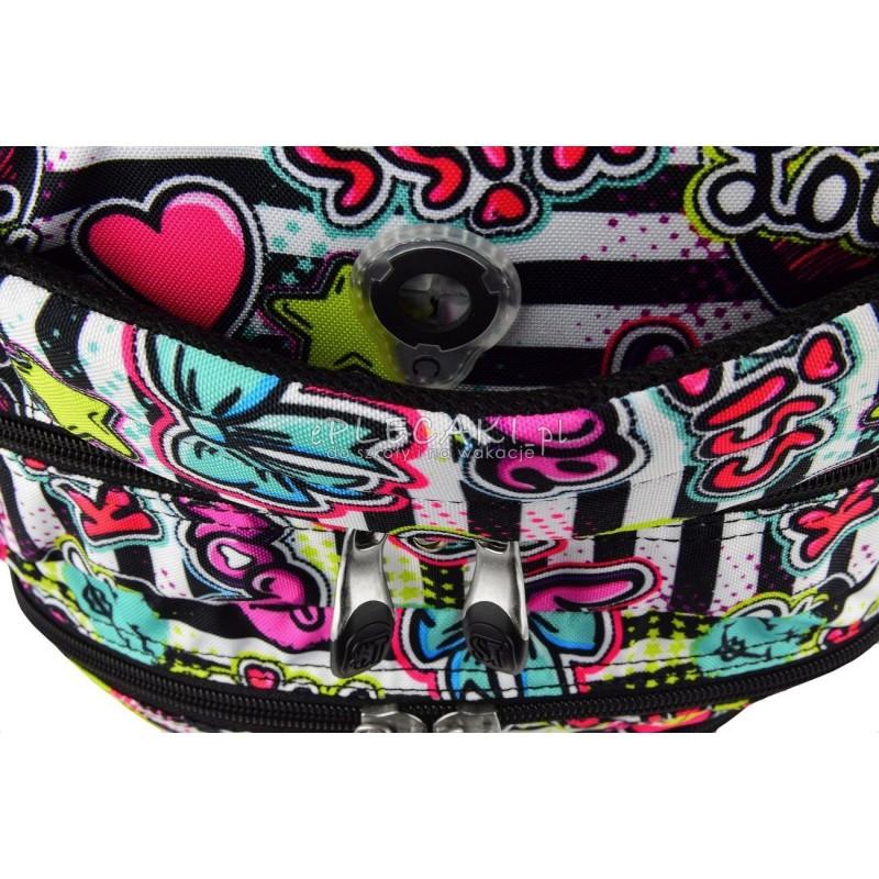 f1ee7d4542399 RIGHT KISS   LOVE emotikony i napisy BP07 modny plecak dla dziewczyny   Plecak młodzieżowy ST.