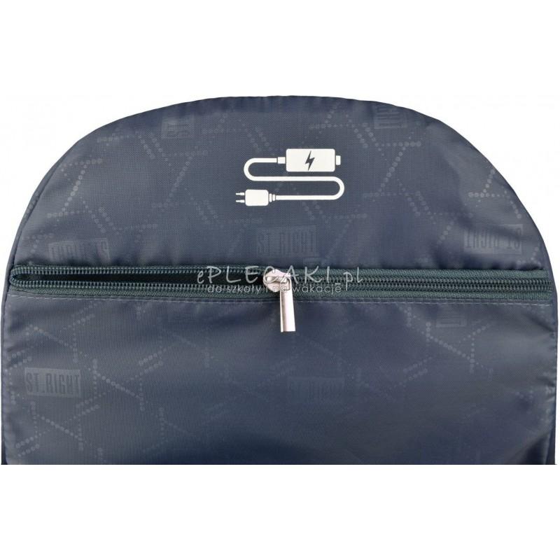 f4c8b8067a448 ... Plecak młodzieżowy 32 ST.RIGHT LAVA gorąca lawa - modny plecak dla  chłopaka