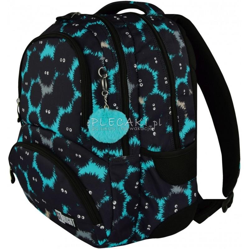 fd0feb6bbabfc ... fajny plecak  Plecak młodzieżowy ST.RIGHT MONSTERS potwory BP07 - modny  plecak dla chłopaka