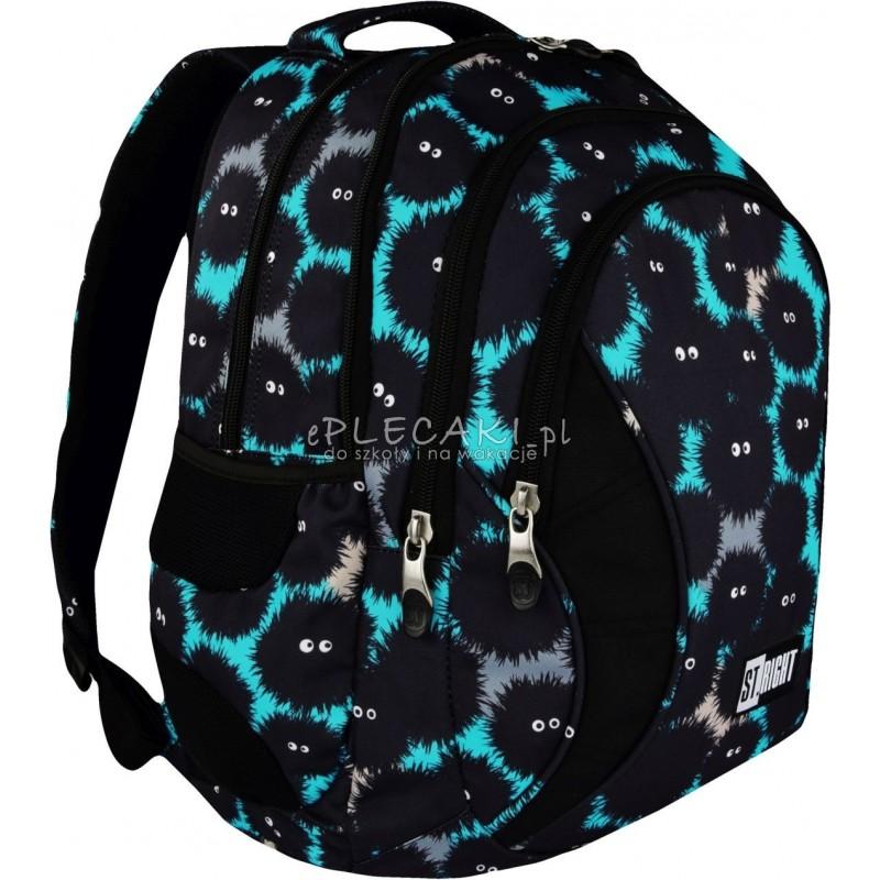 c9ae877f4fe3b Plecak młodzieżowy ST.RIGHT MONSTERS potworki BP02 - fajny plecak dla  chłopaka