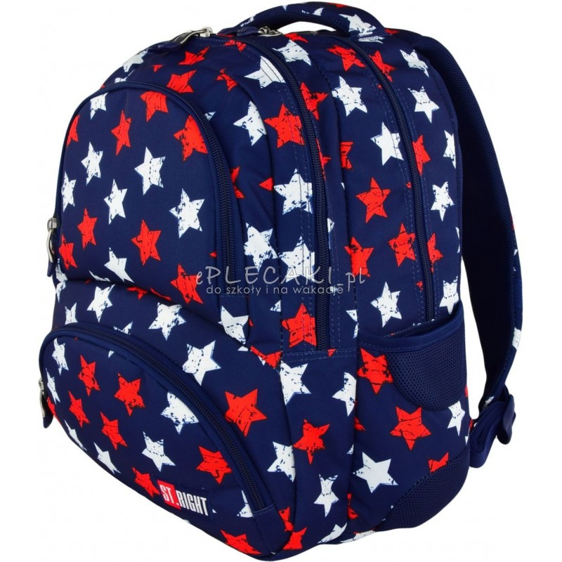 8c05422423162 ... Plecak młodzieżowy ST.RIGHT STARS gwiazdy BP07 modny plecak dla chłopaka