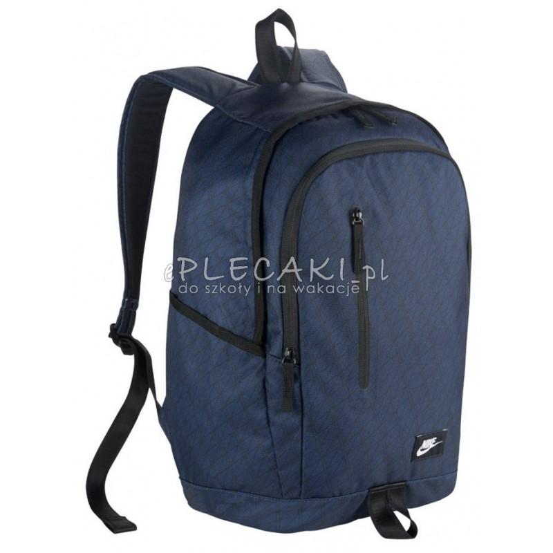 1f730fb5bbb0f Plecak sportowy NIKE All Acces Soleday granatowy dla młodzieży
