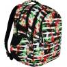 Plecak młodzieżowy ST.RIGHT TROPICAL STRIPES hibiskus BP01