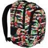 Plecak młodzieżowy 32 ST.RIGHT TROPICAL STRIPES hibiskus BP32