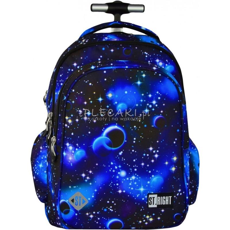 c2137b339264e Plecak na kółkach ST.RIGHT COSMOS kosmos - plecak w planety w układzie  kosmicznym dla
