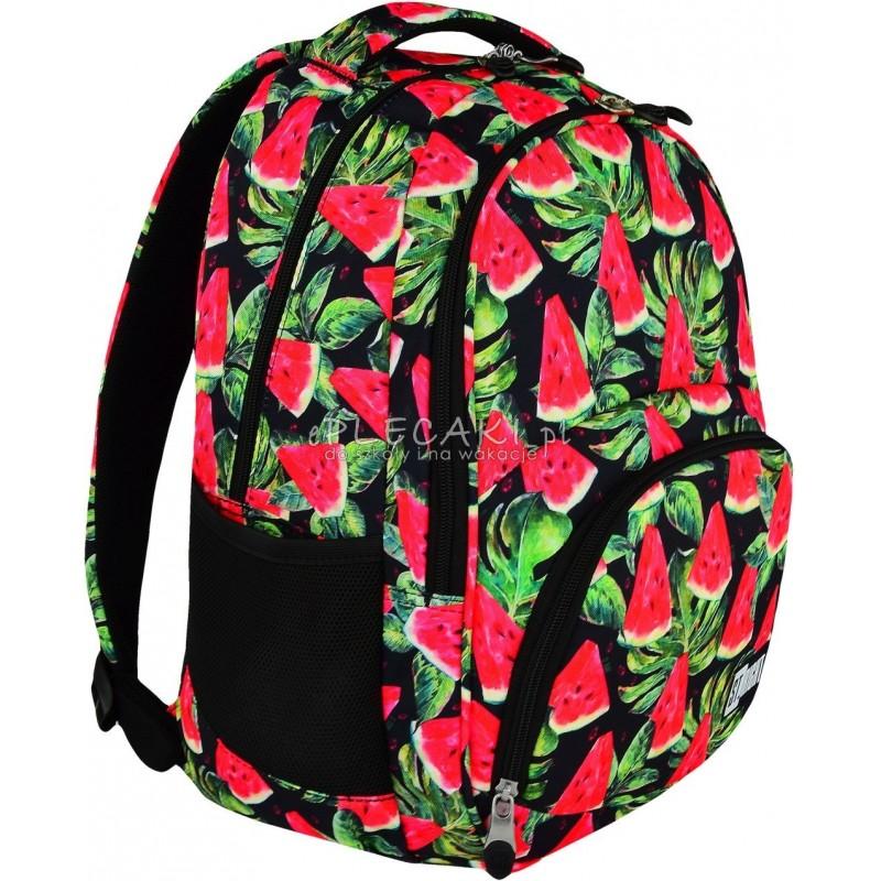 67947250758f7 Plecak młodzieżowy 23 ST.RIGHT WATERMELON arbuz BP23 plecak dla młodzieży