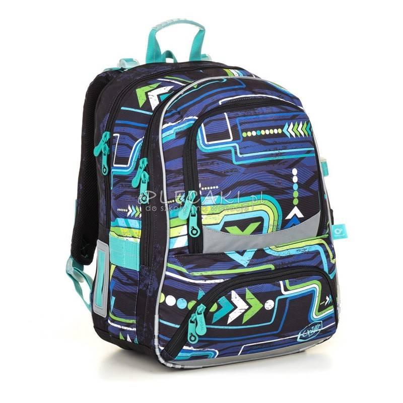 e8c64c56e38bb Plecak dla chłopca szkolny, plecak komputer, modny plecak dla chłopaka do  szkoły, ciemny