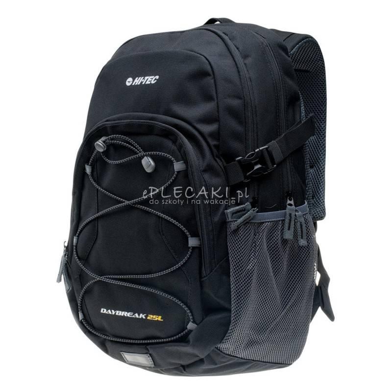 90a534cf2f930 Plecak sportowy Hi-Tec Daybreak 25L czarny na wycieczkę