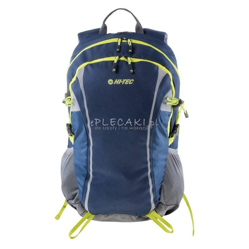 6c01d2b673265 ... Plecak sportowy HI-TEC COLUMBO DRESS BLUES   STEEL GREY   LIME PUNCH 30  L ...