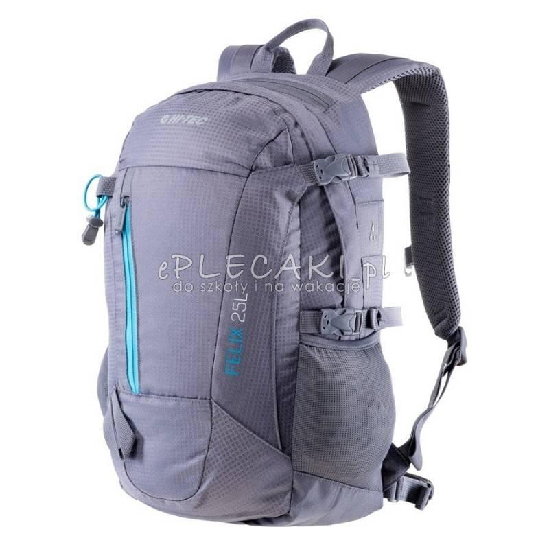 tanio na sprzedaż buty temperamentu dostępność w Wielkiej Brytanii Plecak sportowy HI-TEC FELIX 25L WET/WEATHER / BLUE DANUBE szary
