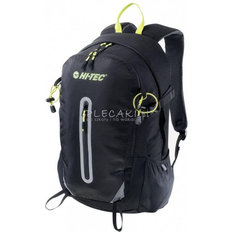 fe06986881579 Plecak sportowy HI-TEC MAYO 20L BLACK   LIME PUNCH czarny męski trekkingowy