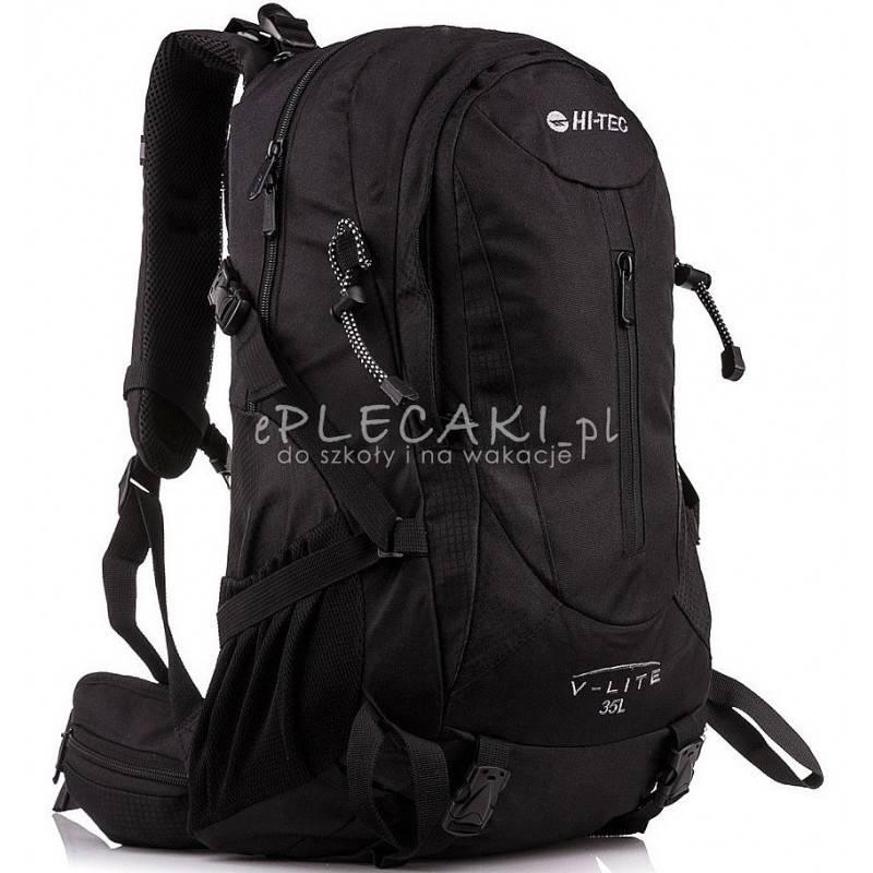 9cd0f0c322021 Plecak turystyczny HI-TEC V-LITE AMBATHA 35L BLACK czarny górski męski