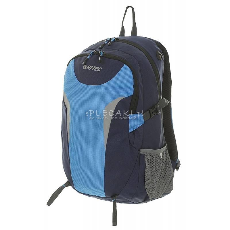 f8215aadf3f0 Plecak sportowy HI-TEC VESRO 25 litrów BLUE   NAVY   GREY niebieski  młodzieżowy dla