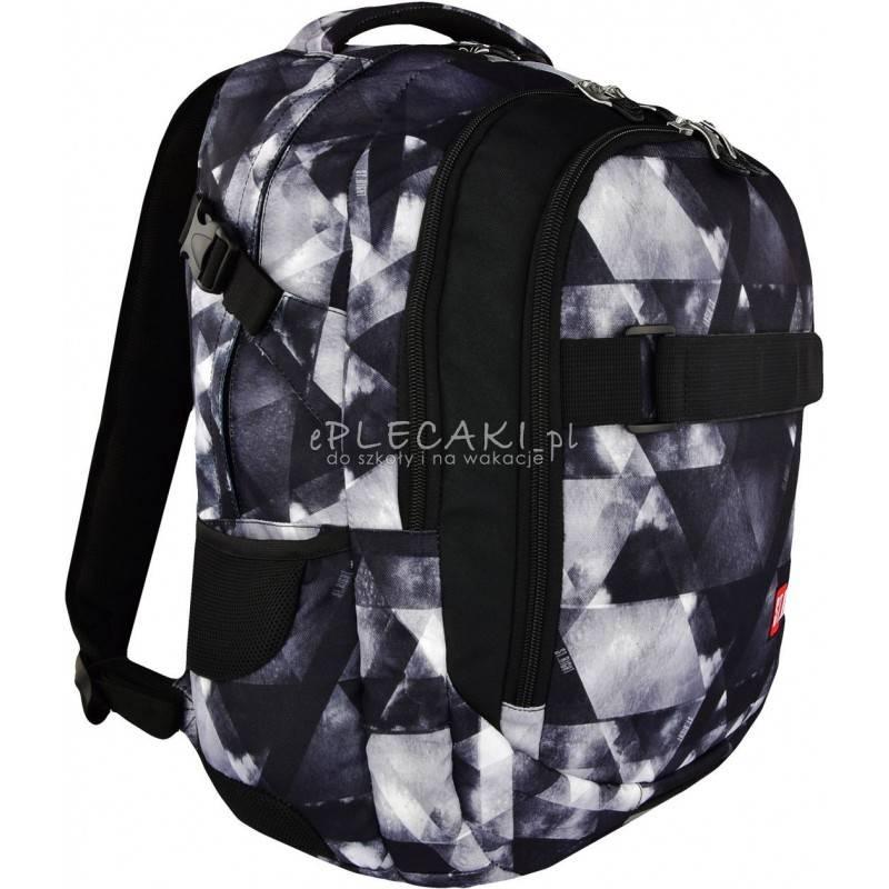 e0a74ef0d836e Plecak młodzieżowy ST.RIGHT WATERCOLOUR szare cienie BP34 - duży plecak dla  chłopaka
