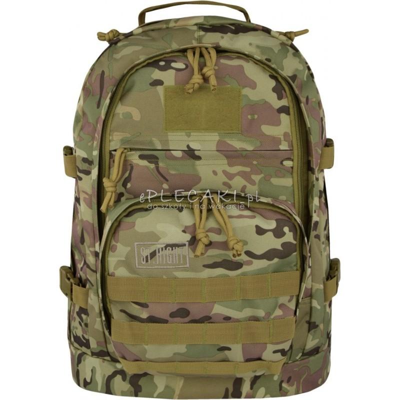 f775bdd3901e6 Plecak 40 l. MILITARY militarny jasnozielony ST.RIGHT - BP37 - plecak moro,