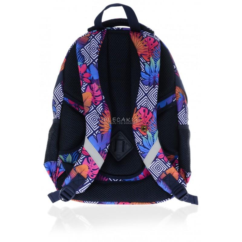 dc21dc7f2770f ... Plecak młodzieżowy HASH jesienna abstrakcja HS-09 D - modny plecak do  szkoły, plecak