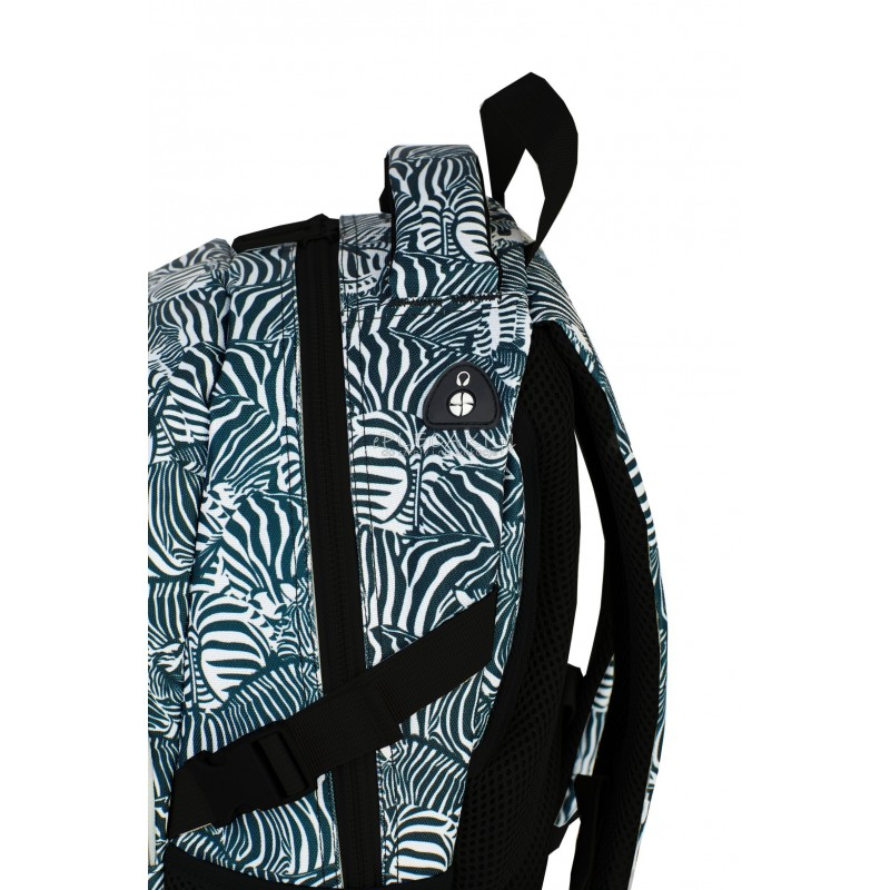 bb5cff37c08f8 ... Plecak młodzieżowy HASH zebra HS-15 A modny plecak na laptop,  młodzieżowy plecak,
