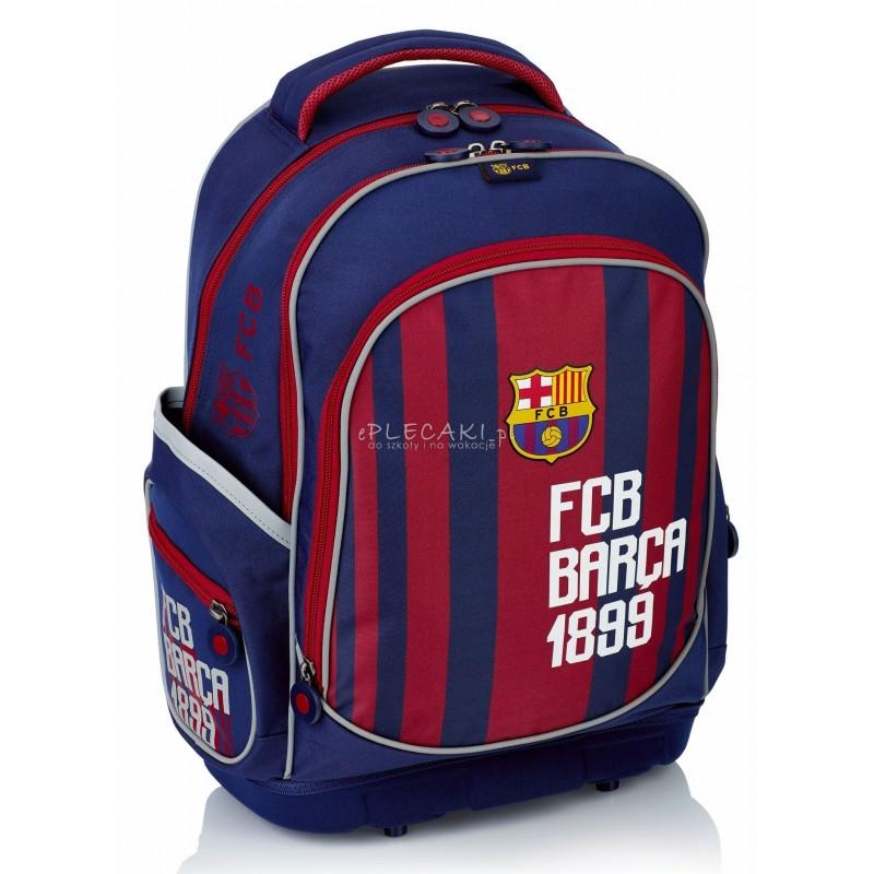 4f1ed8049d19c Plecak ergonomiczny FC Barcelona FC-181 Barca do szkoły w paski dla kibica
