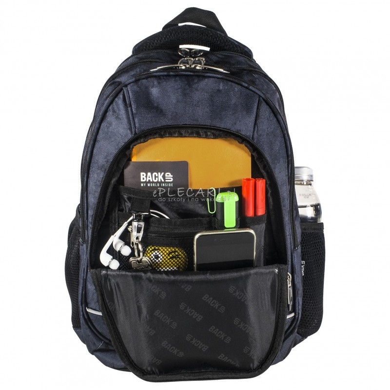7b9146e3cceef ... Plecak BackUP A 22 akwarela do szkoły + GRATIS słuchawki - młodzieżowy  plecak