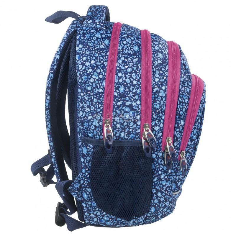 81f079addb4c3 ... Plecak BackUP A 14 błękitna łąka do szkoły + GRATIS słuchawki - młodzieżowy  plecak