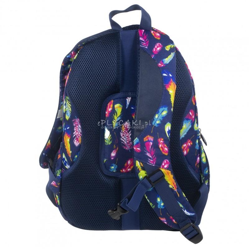edbd4d806cba8 ... Plecak BackUP A 24 pióra do szkoły + GRATIS słuchawki - młodzieżowy  plecak, modny plecak ...