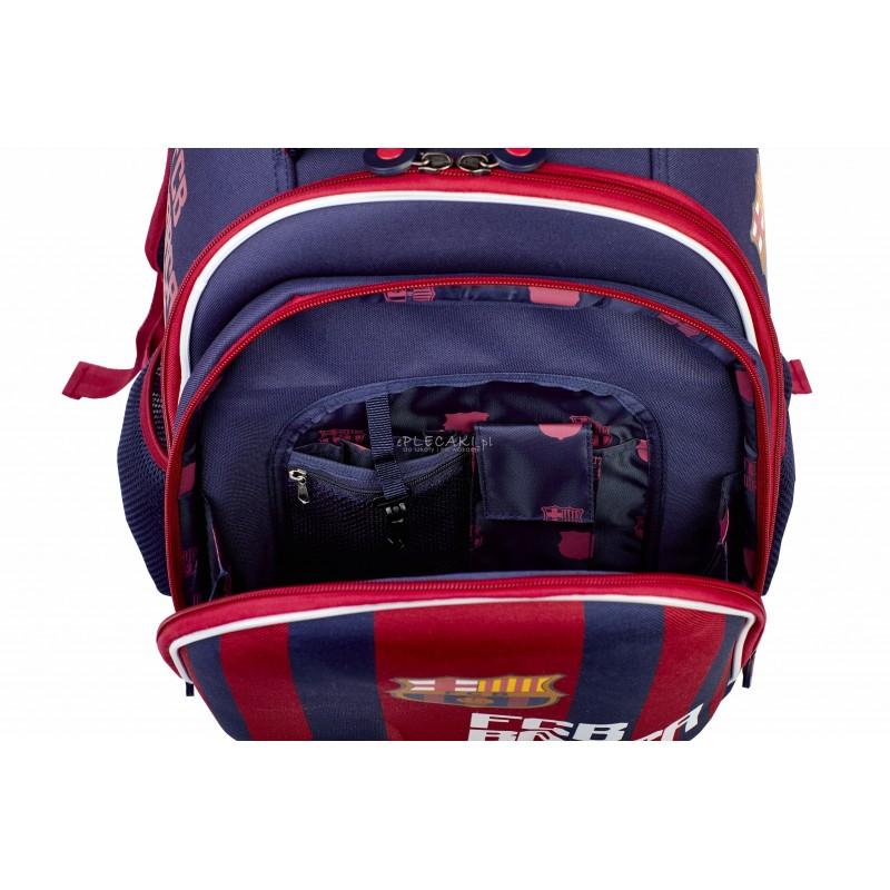 48f6b19aa3c2b ... Tornister szkolny FC Barcelona FC-170 Barca plecak ergonomiczny dla  chłopca Barca w paski