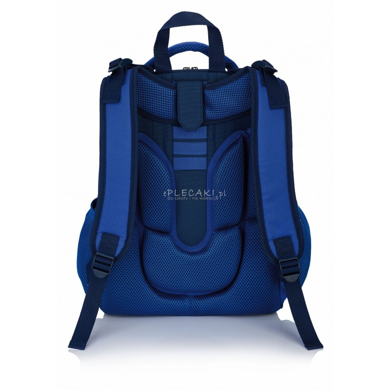 630d99f6bd262 ... Tornister szkolny Real Madryt RM-120 granatowy ergonomiczny dla chłopca  plecak ...