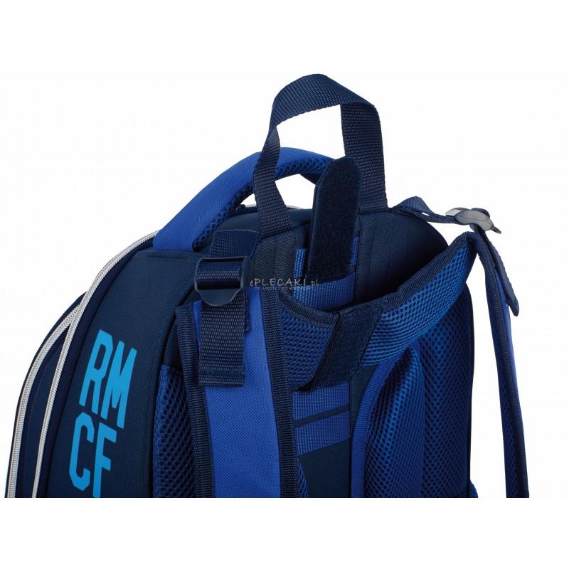 fcab147453691 ... Tornister szkolny Real Madryt RM-120 granatowy ergonomiczny dla chłopca  plecak
