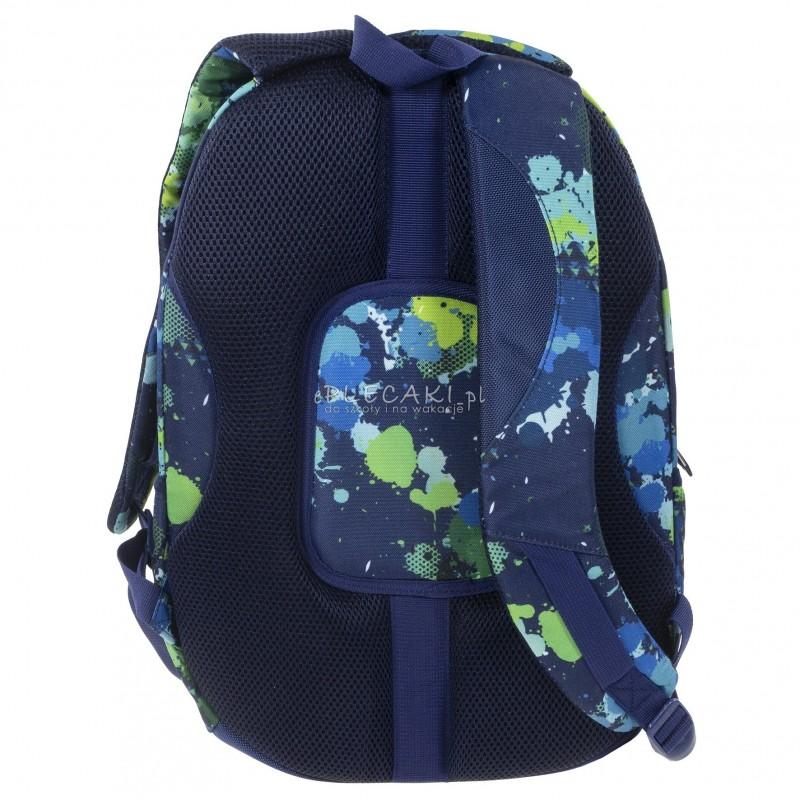 ed68854e8fa60 ... Plecak BackUP C 22 akwarela do szkoły - fajny plecak dla chłopaka