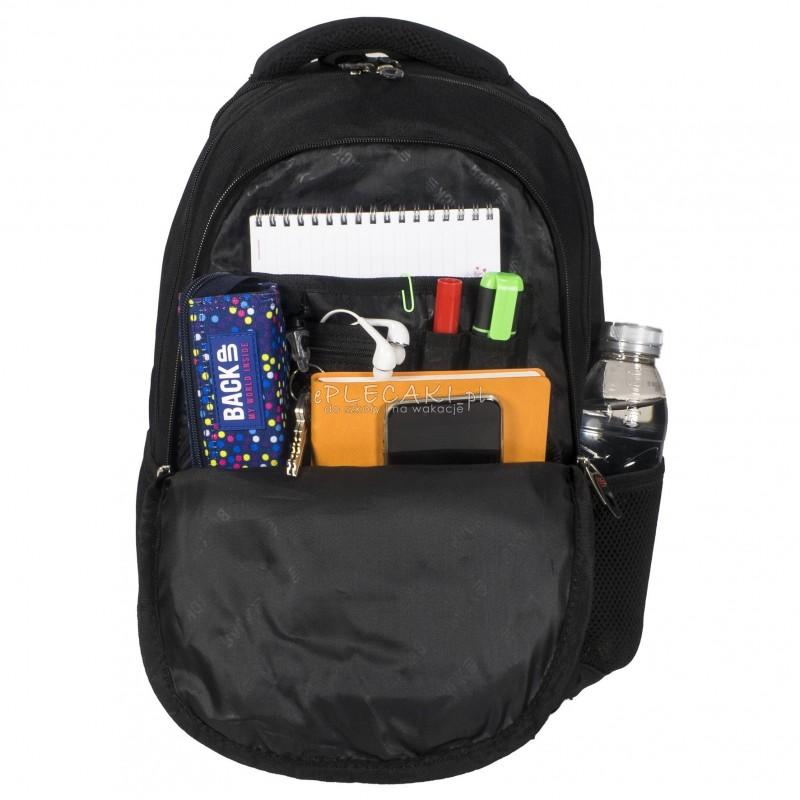 b3e5289a1620d ... Plecak BackUP C 24 piórka do szkoły - fajny plecak dla dziewczyny,  modny plecak dla