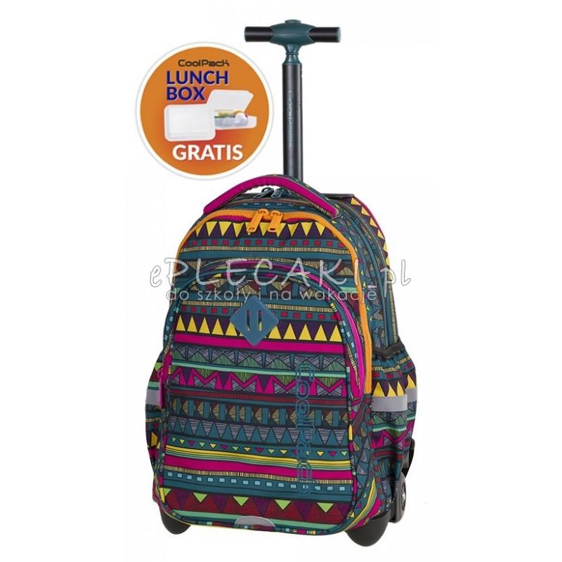 31fa8a5739474 Plecak na kółkach CoolPack CP JUNIOR MEXICAN TRIP Meksyk - A213 +  ŚNIADANIÓWKA plecak dla ucznia