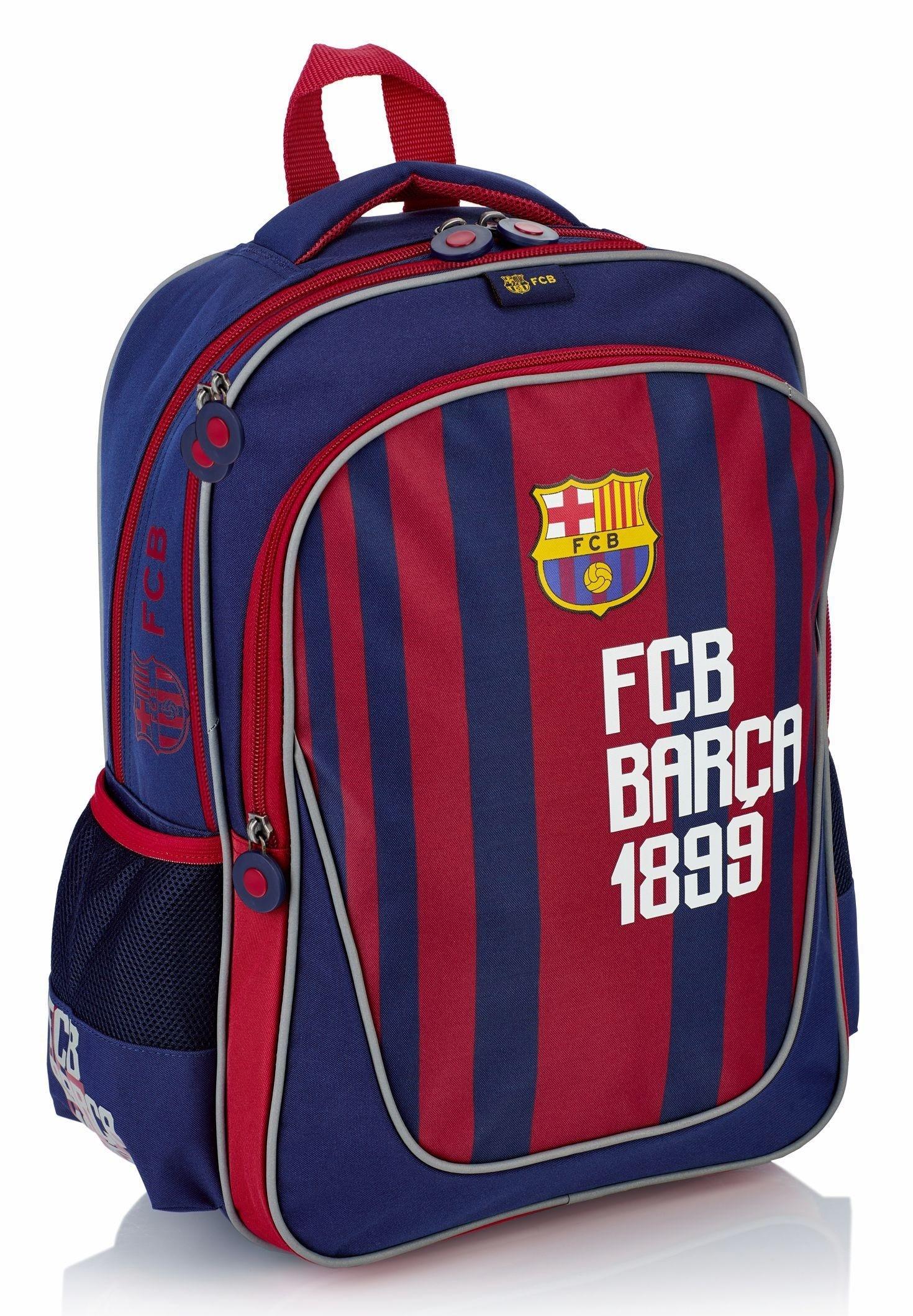 Plecak szkolny FC Barcelona dla chłopca do pierwszej klasy