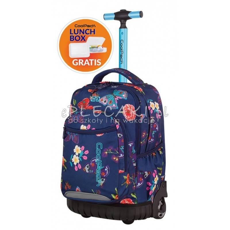 633090c10652c Plecak na kółkach CoolPack CP SWIFT SUMMER DREAM motyle, dla dziewczyny w  szkole podstawowej,