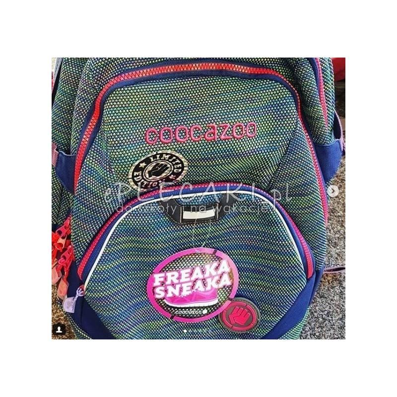 d46e7ac45b22f ... młodzieżowy plecak szkolny dla wymagających Wildberry Knit - Coocazoo  JobJobber 2 - zielono-fioletowy splot