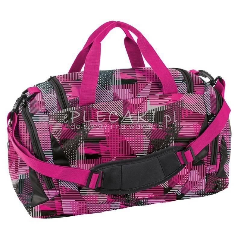 ce16af75d7df8 Różowa torba sportowa Barbie młodzieżowa Paso