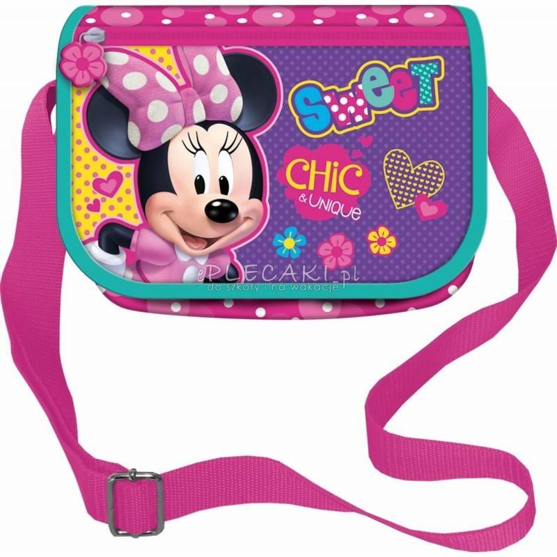 e23430543d Modna torebka na ramię z Minnie w kropki dla dziewczynki