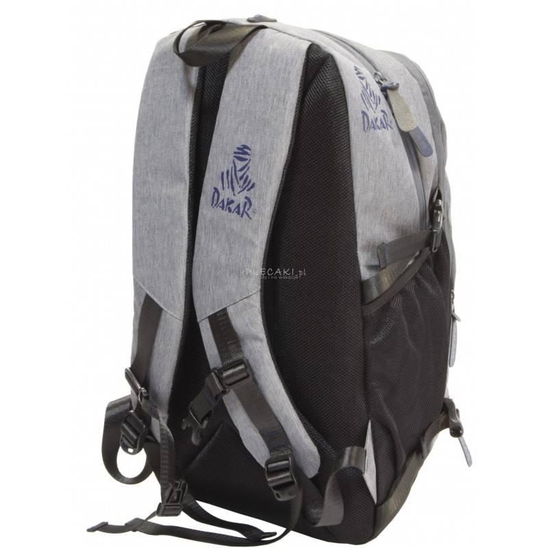 8dc11fa7216 Szary plecak Dakar - Rajd Dakar męski sportowy